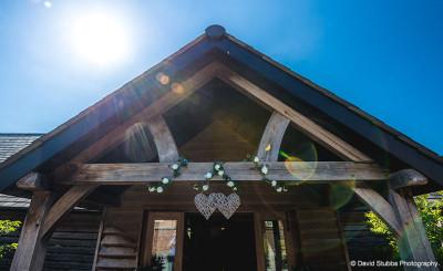Sandhole Oak Barn Entrance - Photography By David Stubbs