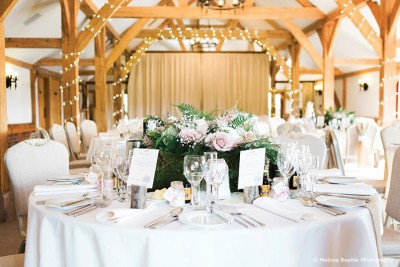 Floral Wedding Centrepieces