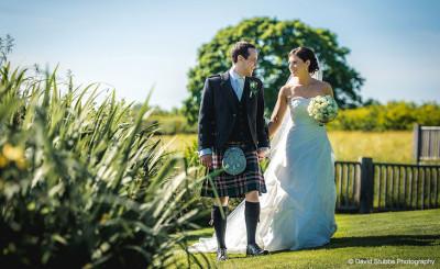 Outdoor Scottish Wedding