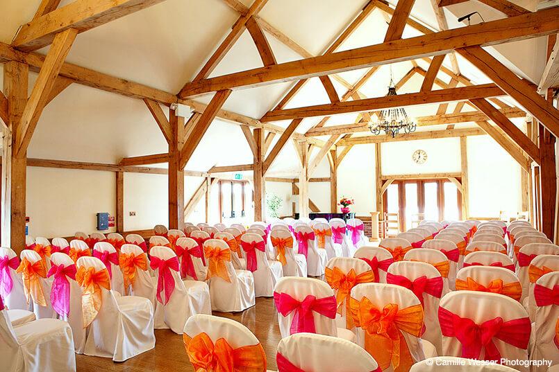 Our Sandhole Oak Barn Wedding Venue looking stunning and colourful!   http://www.sandholeoakbarn-weddings.co.uk/wp- content/uploads/2014/04/oak-barn-gallery-thumbnail-12.jpg