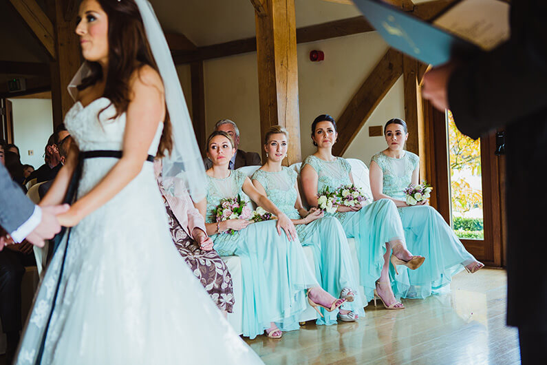 Claire and Sam's civil ceremony