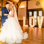 Rebecca and Graeme's real life wedding at Sandhole Oak Barn in Cheshire