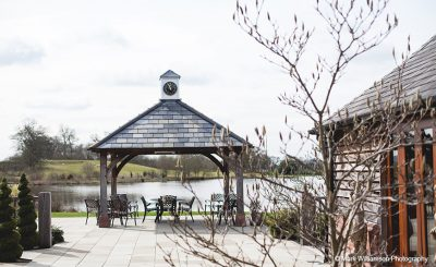Sandhole Oak Barn is idyllic all year round - winter wedding venue