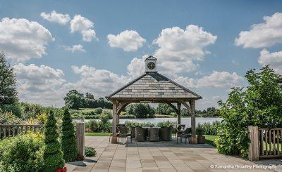 Enjoy the beautiful setting at Sandhole Oak Barn summer wedding venue