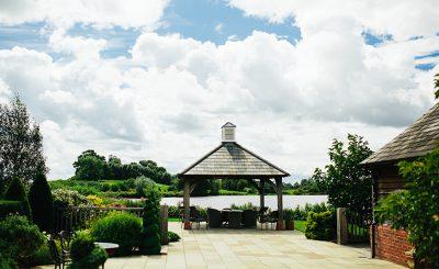The Clock Tower at Sandhole Oak Barn is licensed for wedding ceremonies – outdoor weddings