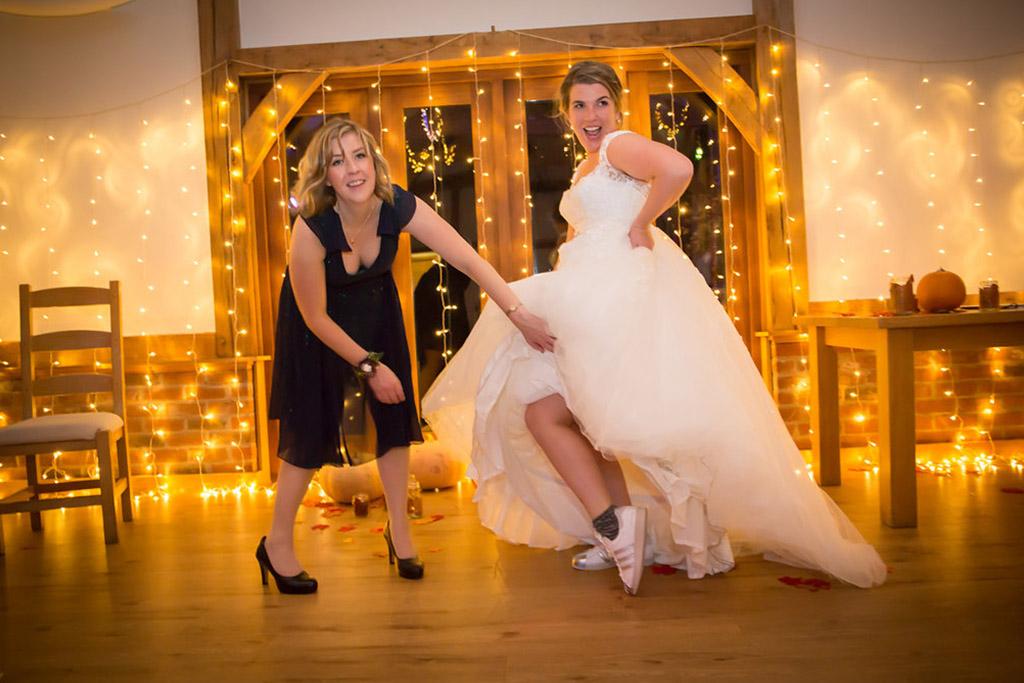 bridal dress evening wedding reception sandhole oak barn wedding venues cheshire