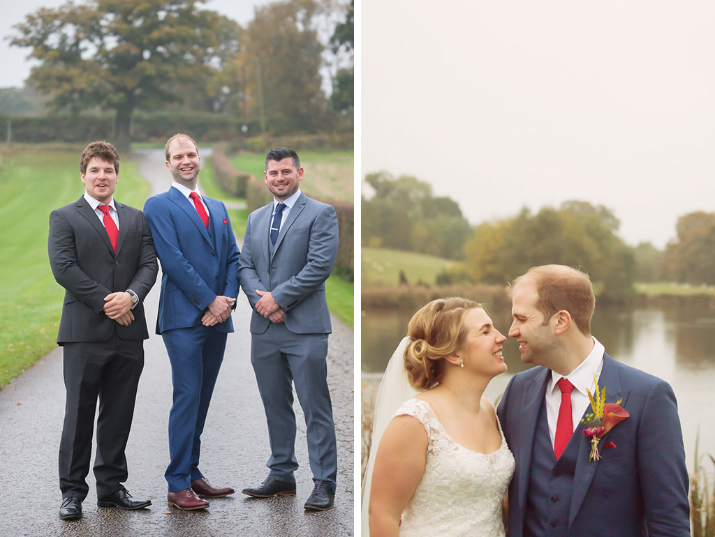 groomsmen sandhole oak barn wedding venues cheshire