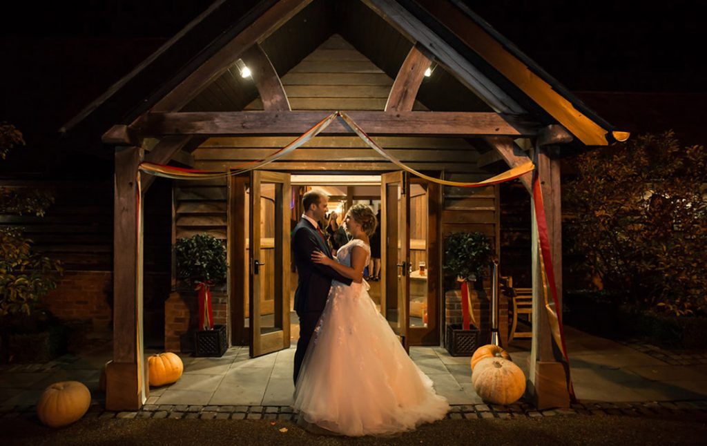 Lorna And Paul An Autumnal Celebration Sandhole Oak Barn