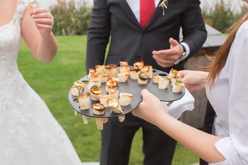 wedding canapes wedding food sandhole oak barn wedding venues cheshire