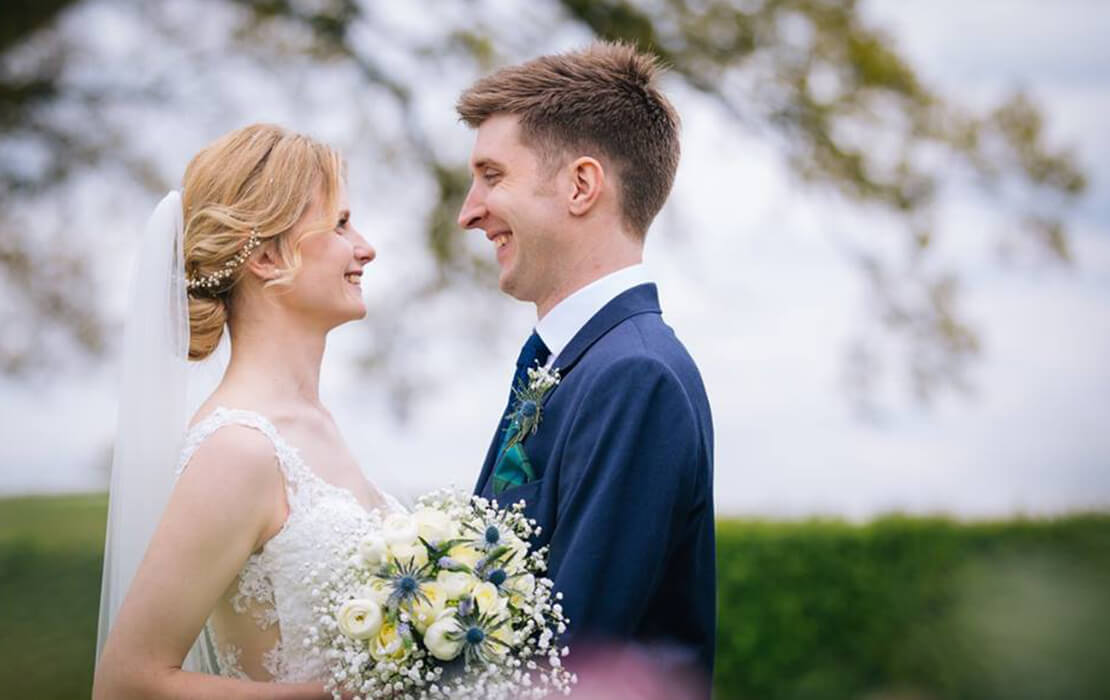Alison and Joseph celebrated their wedding day at Sandhole Oak Barn wedding venue in Cheshire