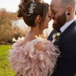 Kimberley and Thomas' Winter Sunshine wedding at Sandhole