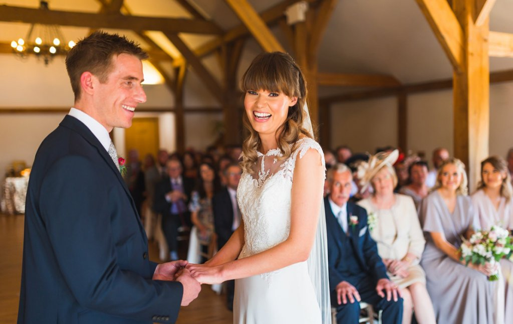 Helen and Matthew's A Delightful Spring Wedding at Sandhole Oak Barn in Cheshire