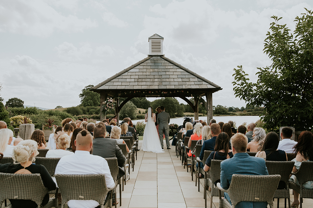 Get married under the Clock Tower and enjoy spectacular views over the lake at this exclusive wedding venue in Cheshire