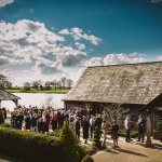 Sandhole Oak Barn in Cheshire is the perfect wedding venue for all seasons