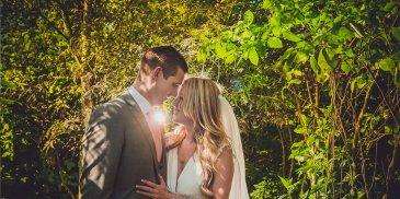 Verity and Sam's real life wedding at Sandhole Oak Barn
